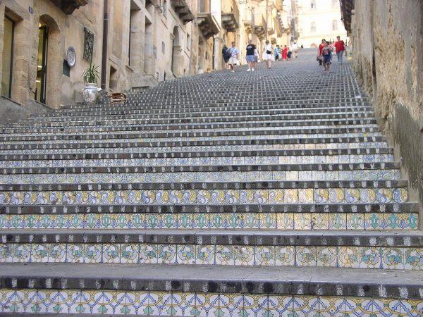 Foto Caltagirone Scala di Santa Maria del Monte